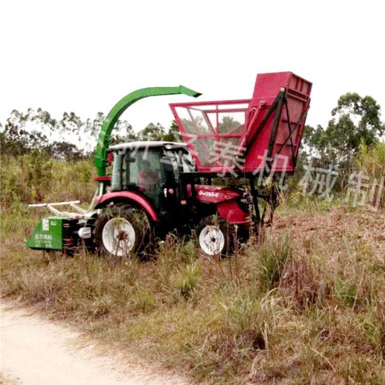玉米全株青贮收获机 茎穗兼收玉米秸秆青储机
