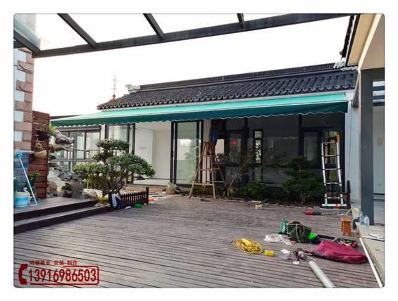 黄浦雨棚设计 上海黄浦室外装饰雨蓬安装 上海黄浦伸缩遮阳篷制作厂家