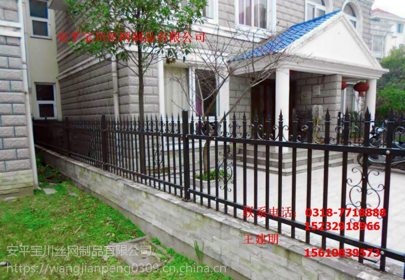 锌钢护栏铁艺护栏小区围栏厂区户外栅栏社区围墙隔离栏杆厂家直销