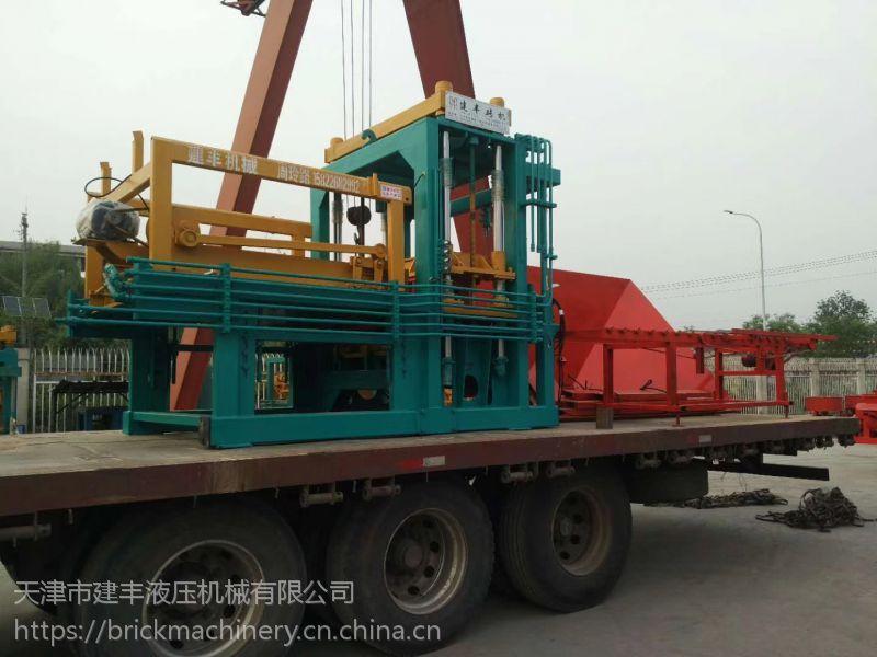 广西南宁彩色路面砖机价格及好品牌就选建丰压砖机