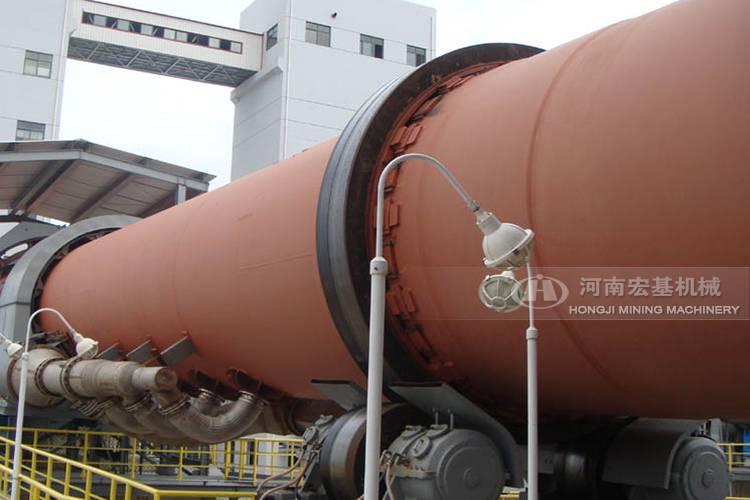 湖北省新承建的石灰回转窑生产成本有多大