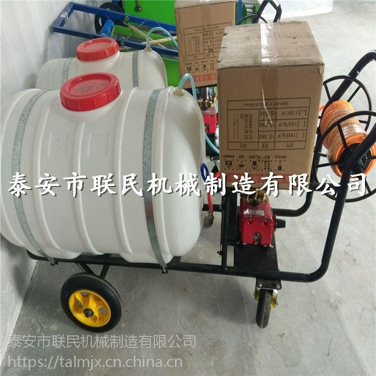 蔬菜大棚杀虫打药机 泰安联民供应 高压拉管式果园喷药机 供货商家