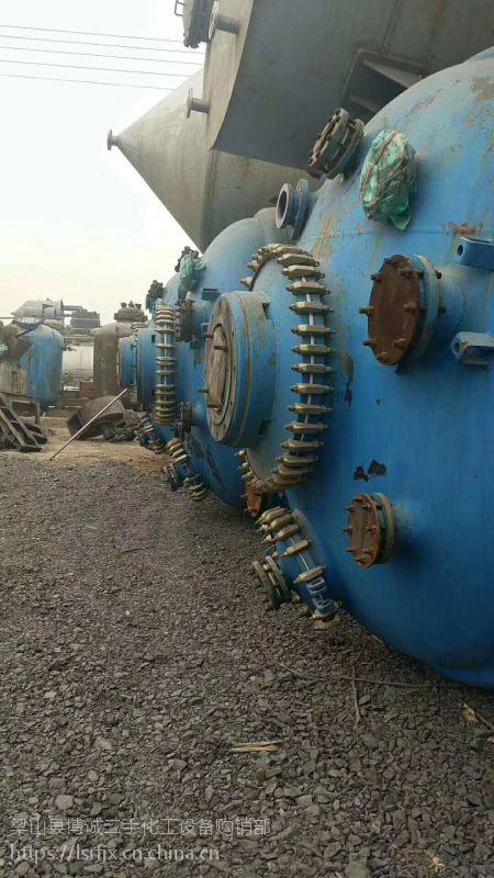 江苏厂家低价转让二手恒德力6300升搪瓷反应釜 厂家直销价位低