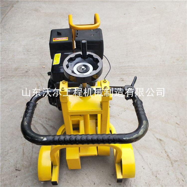 销售水泥路面开槽机 小型工程机械生产厂家公路开槽机