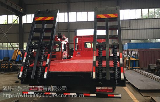 厂家供应江淮小三轴挖机板车 格尔发前四后四25吨挖机板车厂家销售