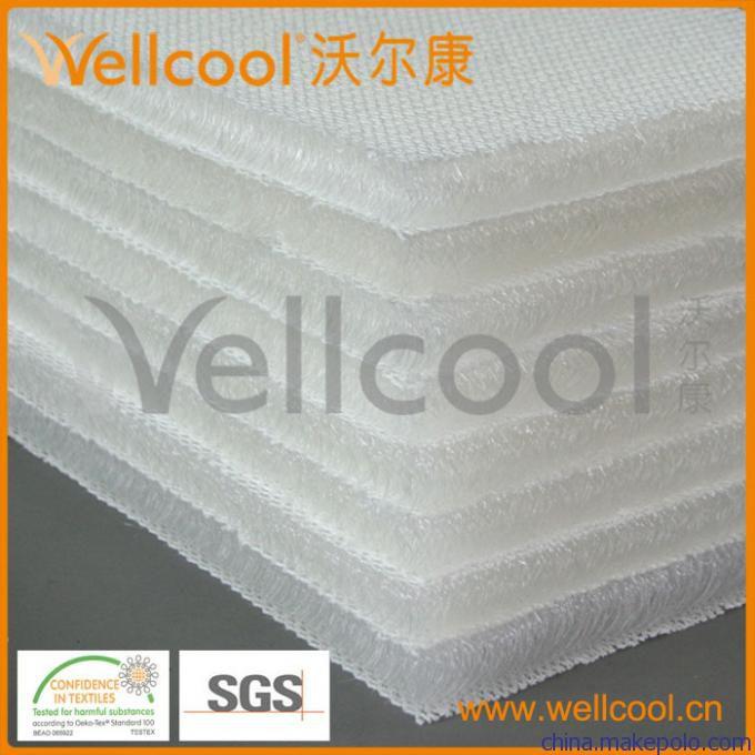 3d軟體材料 環何新型3d床墊材料批發 3d網布 廣東廠家直供圖片