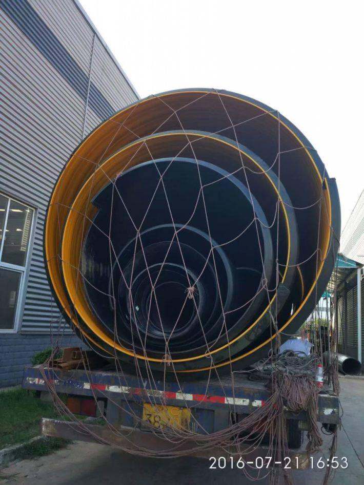 市政专用给水排水钢带增强波纹管长度可定制
