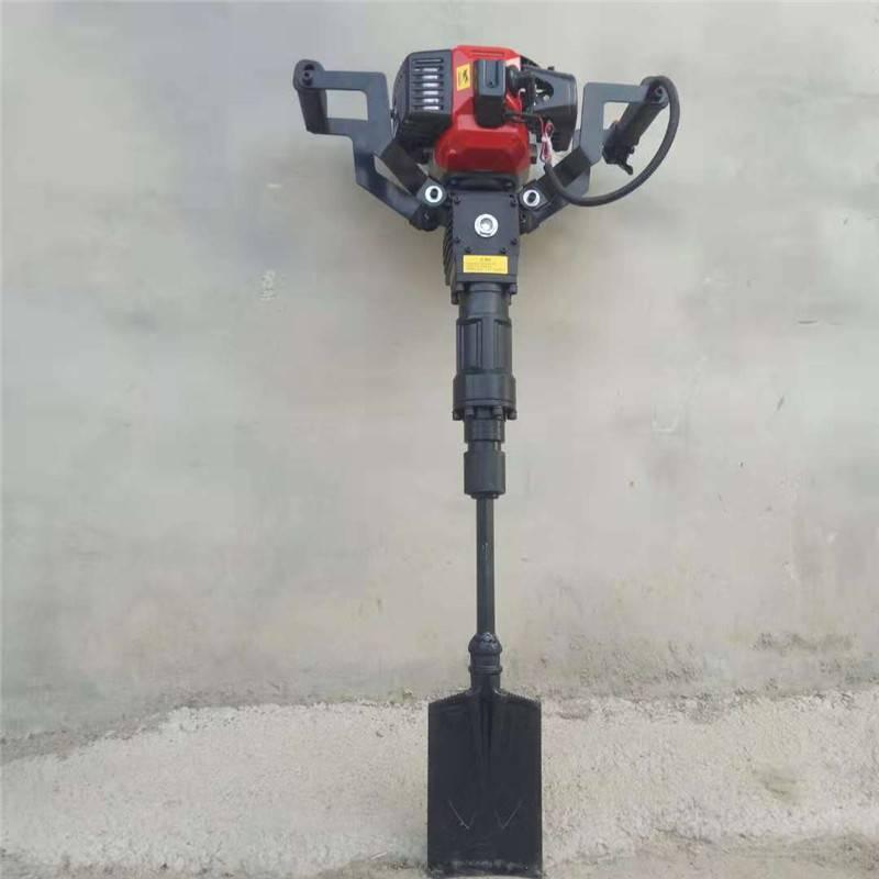铲头汽油挖树机 富兴牌果园种植汽油移栽机 价格