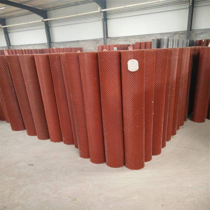 菱形钢板网 镀锌钢板网 涂塑护栏网