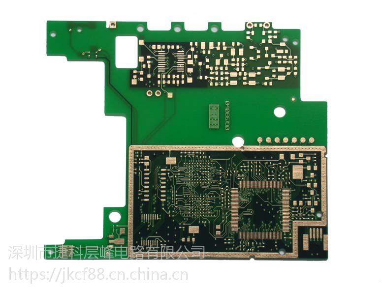 厂家直销 单面2OZ铜厚沉金线路板镀金PCB线路板 准时样板3天 电路板制作批量5天交