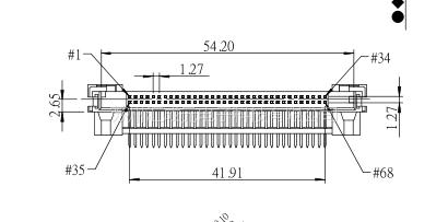 现货供应 康龙 PCMCIA系列 0070200P22B 连接器