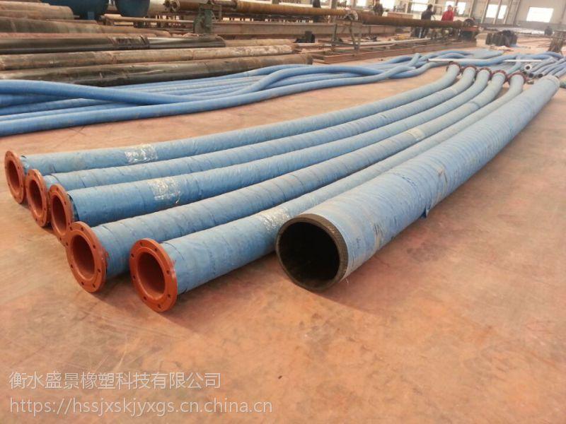 大量生产大口径胶管@钢丝骨架大口径胶管总成硫化法兰