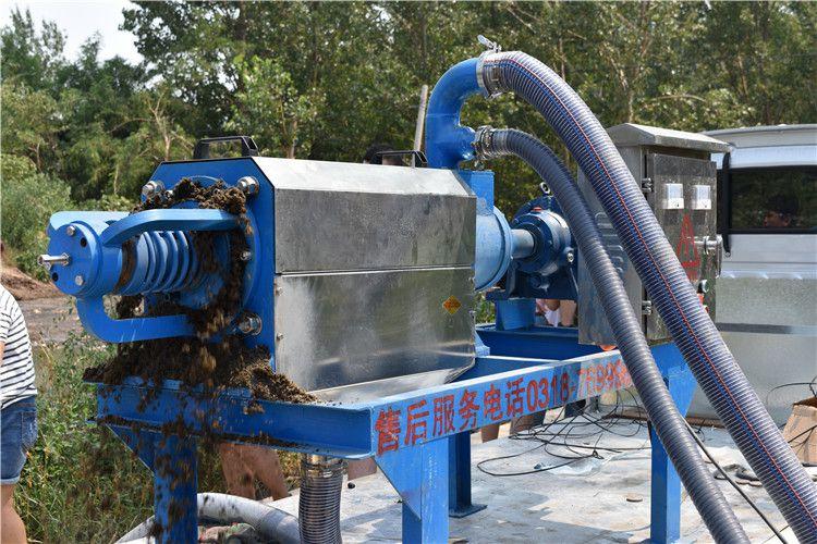 粪便干湿分离机 水冲粪干清粪水泡粪固液分离机 鸡粪猪粪脱水机