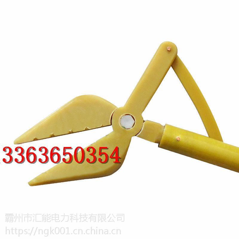 加工定制高压绝缘夹钳防护高压绝缘钳电工电力虎头钳厂家直销汇能