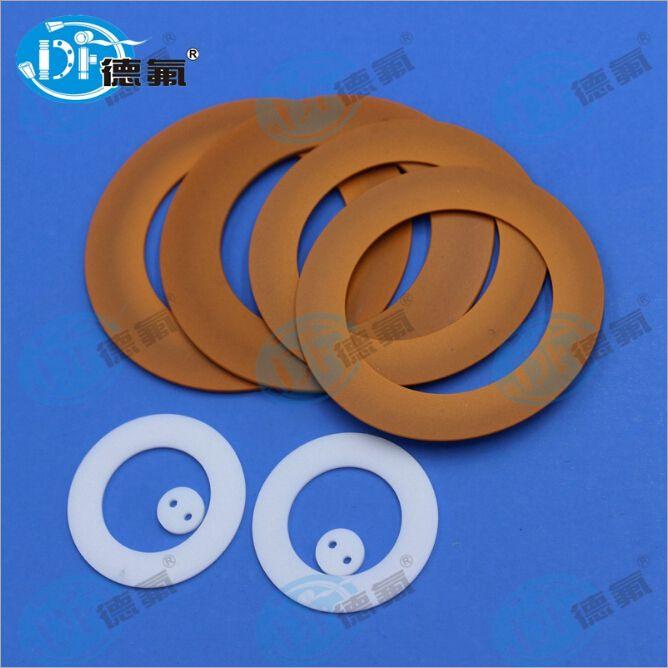【百年德氟】耐高温300度以上改性四氟 深圳生产可做机械密封垫片 四氟活塞环