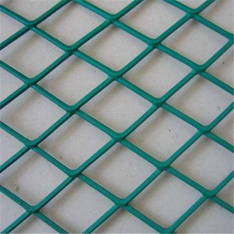 公路护栏网 金属拉伸网 红色圈地围网