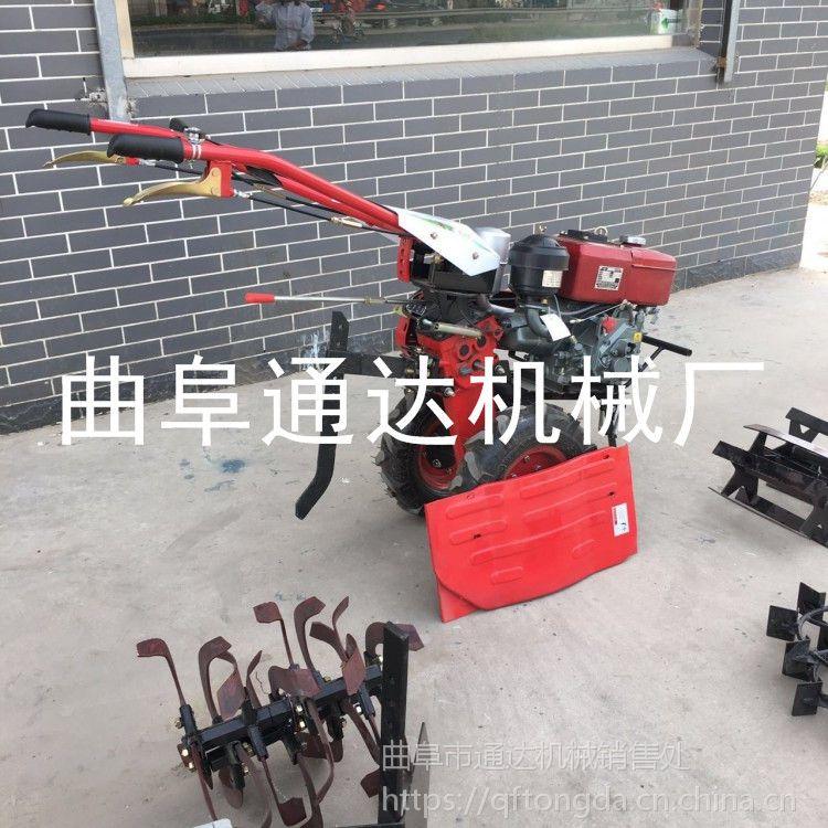 批发零售 汽油微耕机 田园专用柴油多功能手扶式微耕机 通达