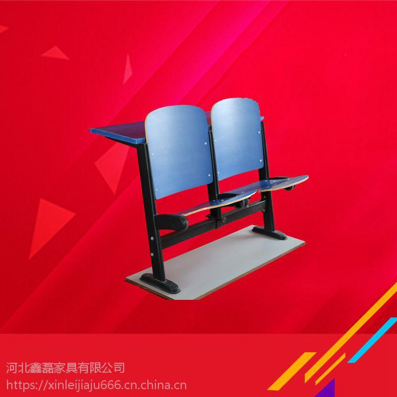 文学士钢木连排椅厂家实地供货,可定做
