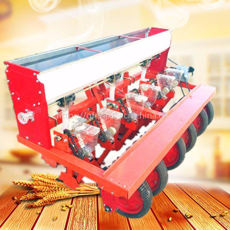 芥菜油菜施肥播种机 信阳谷物点播 免间苗高粱播穴机