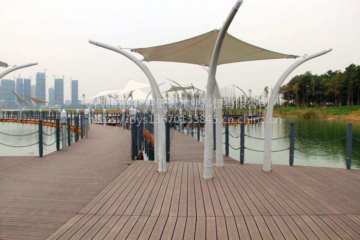 大量供应3米长的塑木地板材料13670133845