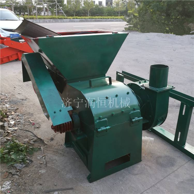 棉花秸秆粉碎机 自动进料草料粉碎机