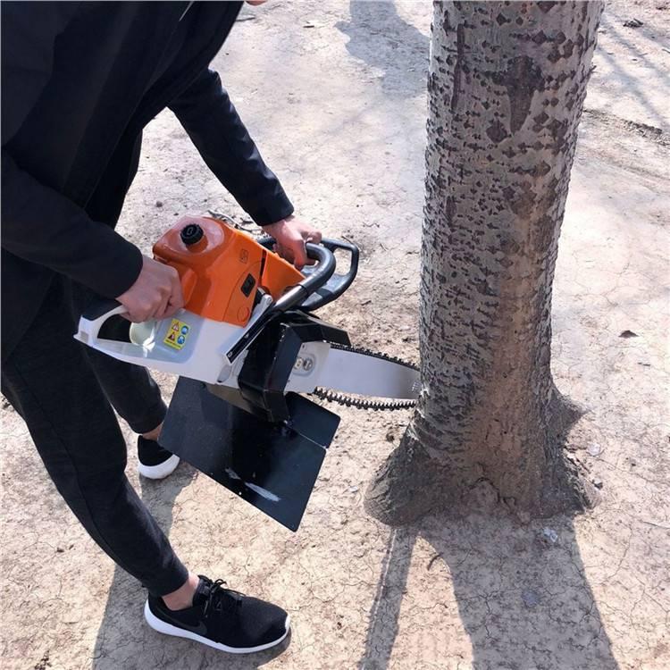 福建带土球毛竹挖树机 机械式刨树机润丰