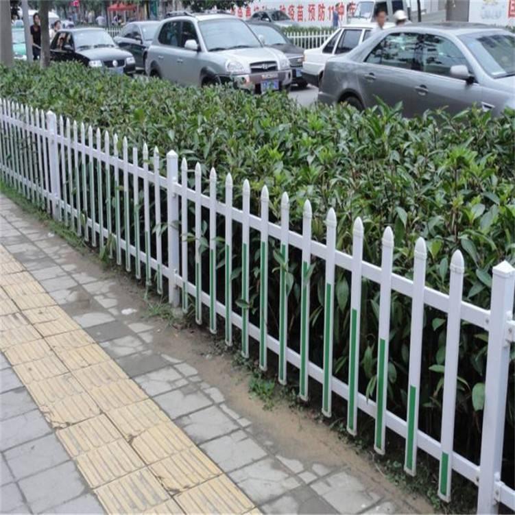 建设新农村花池围栏 塑钢护栏厂家 草坪塑钢护栏