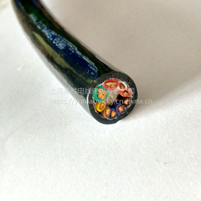 2*0.75/1/1.5/2.0+2/3/4*2*0.2P组合防海水电缆 防水抗拉凯夫拉线缆
