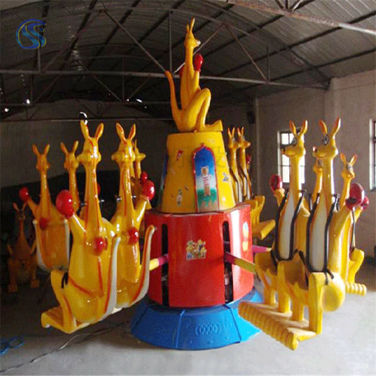 庙会游乐设备袋鼠跳dst36人三星游乐场设备外观新颖质量好
