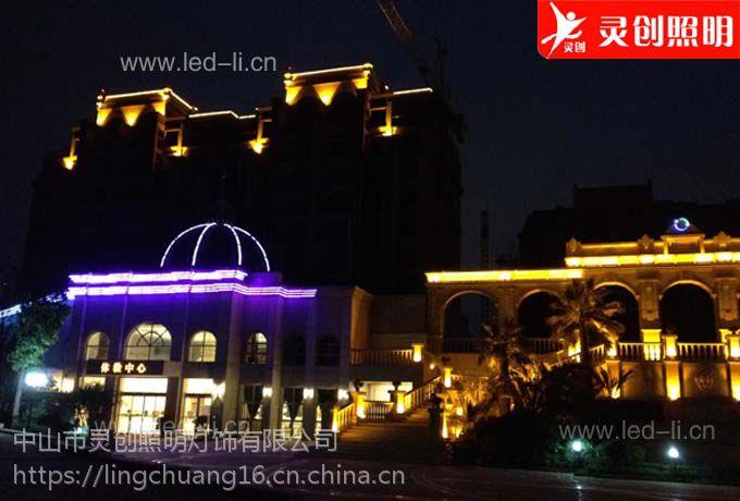 广东佛山LED全彩外控数码管高品质是关键灵创照明