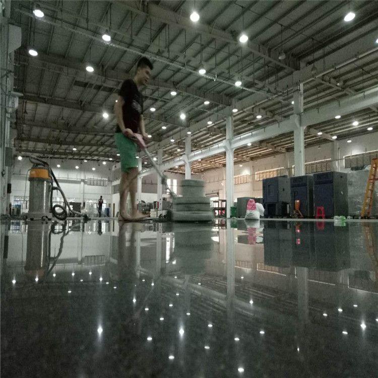 东莞厂房地面翻新-南城区旧地坪处理--硬化无尘