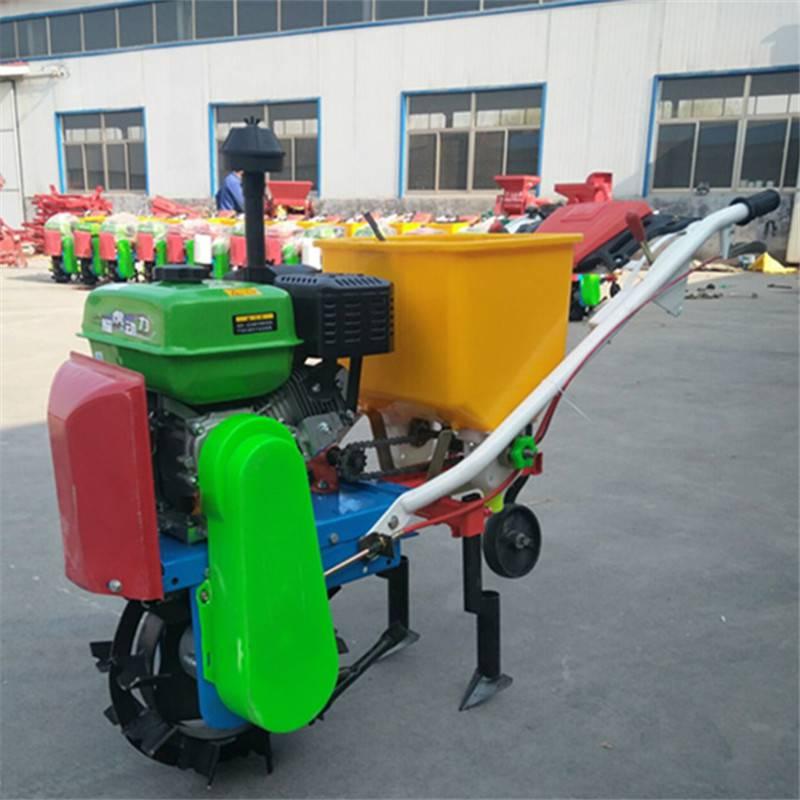 汽油玉米地施肥机 高效率施肥机 富民牌