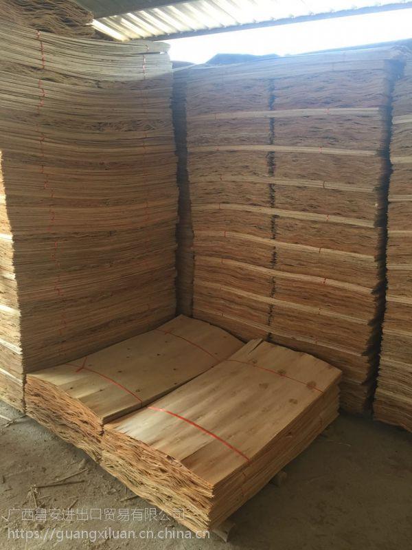 广西鲁安长期生产各种规格的桉木单板 可定做规格