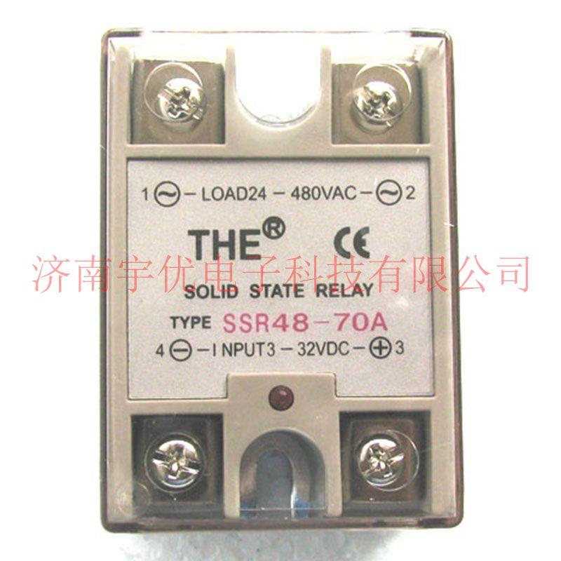 THE无锡天豪 SSR48-70A 单相直流控制交流固态继电器 正品现货