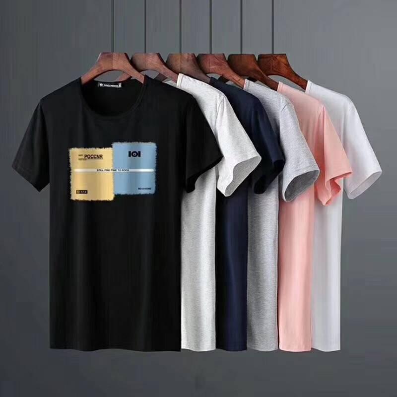 展销会热卖男式短袖t恤厂家直销安徽滁州合适摆跑量T恤