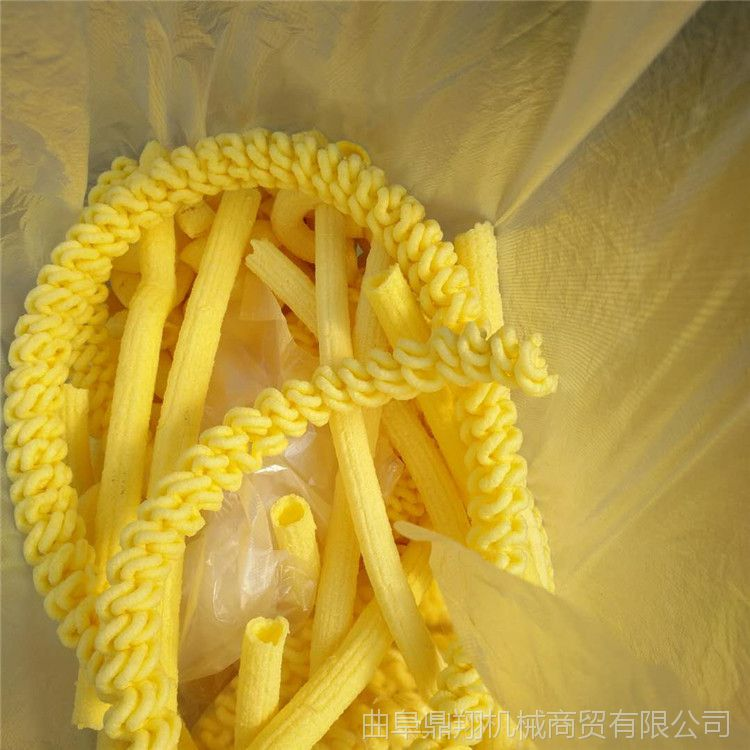 食品专用谷物膨化机 可做不同形状的食品膨化机 膨化机花型