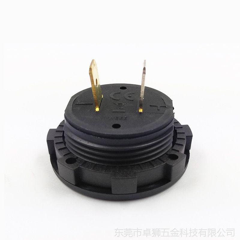 摩托车改装电压表 汽车数字显示电压测量仪表 电瓶测量数显表12V