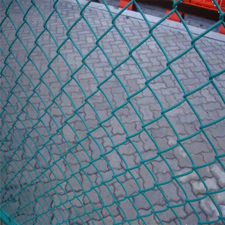 体育场防护网 球场围网 篮球场勾花网