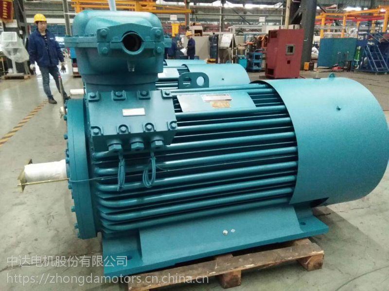 Y2系列高压三相异步电动机Y2-HV 355-2-160KW 6KV中达电机ZODA