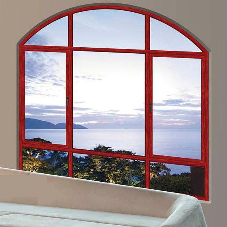 湖南铝合金门窗 断桥铝门窗 异形窗 平开窗 带固定推拉窗