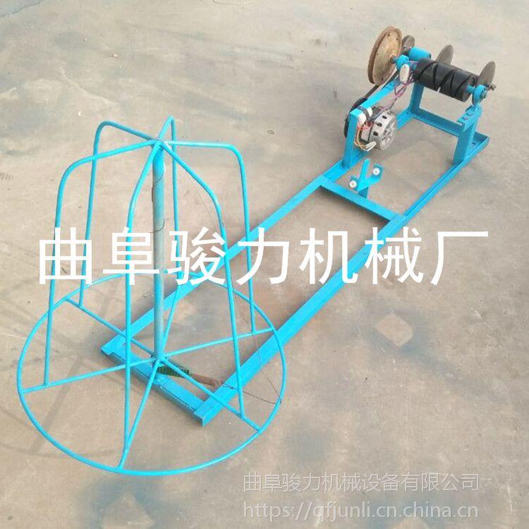 稻草专用草帘机 骏力牌 麦草编织机 自动锁头草帘机 厂家