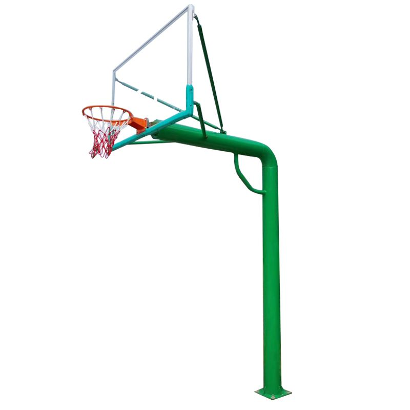 贵港市哪里有篮球架 学校那种绿色移动式篮球架 飞跃体育
