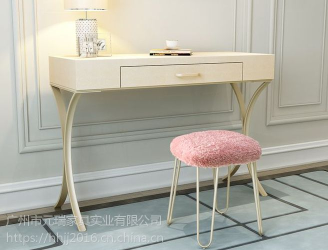 轻奢风化妆台后现代书桌卧室家具别墅定制家具