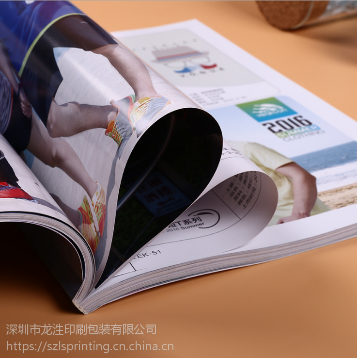 深圳宣传册定制 企业折页画册制作 16开产品说明书印刷定做