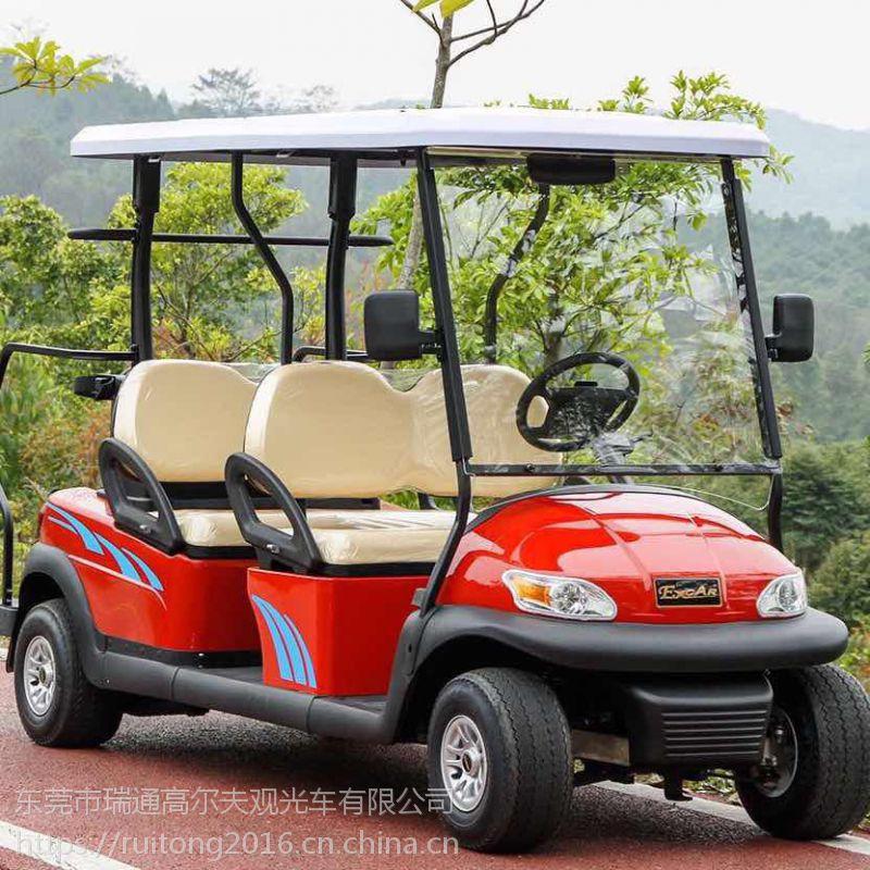 供应4人座高尔夫球车 电动观光车