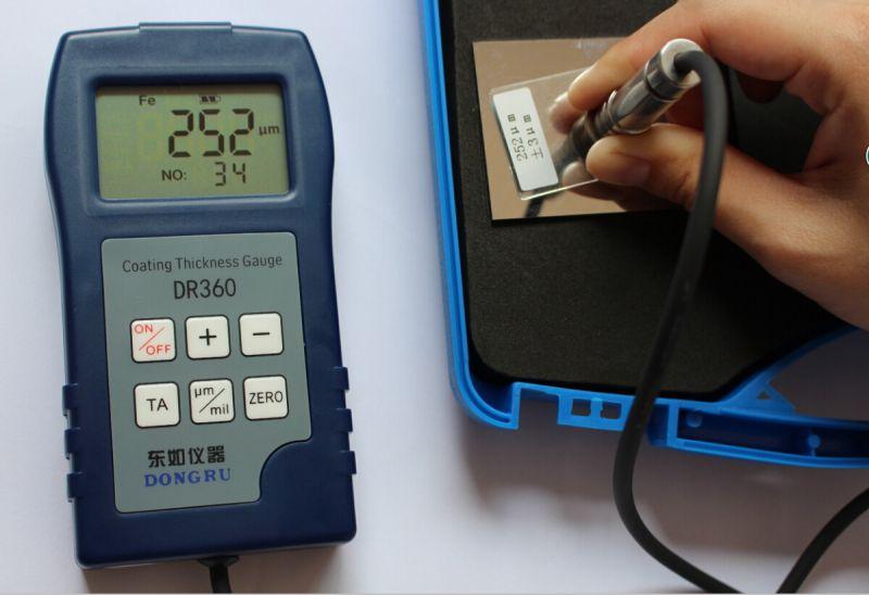 金属油漆厚度测量仪器 东儒DR360涂层测厚仪