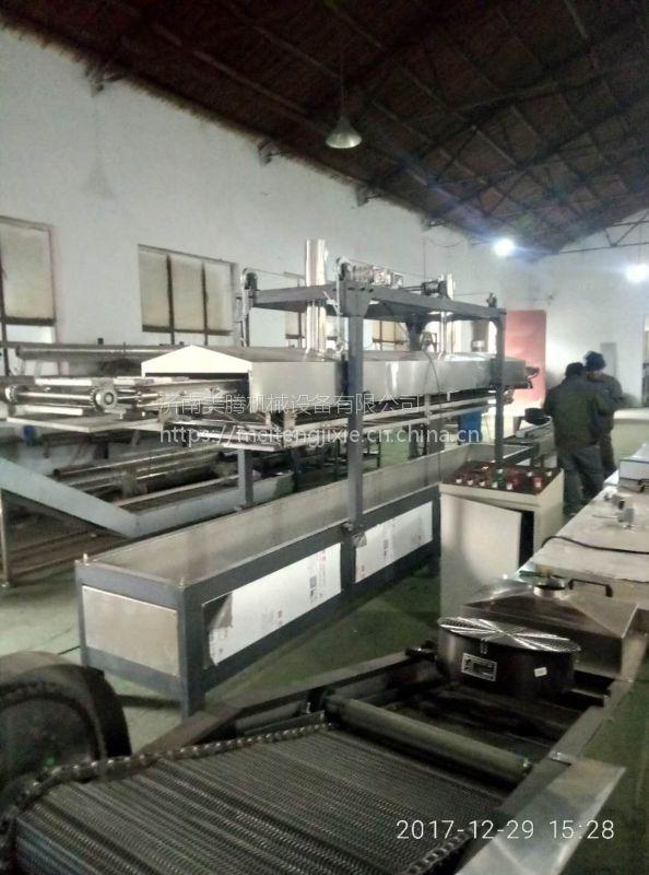 油炸方便面生产设备,新疆方便面生产线,方便面设备生产视频