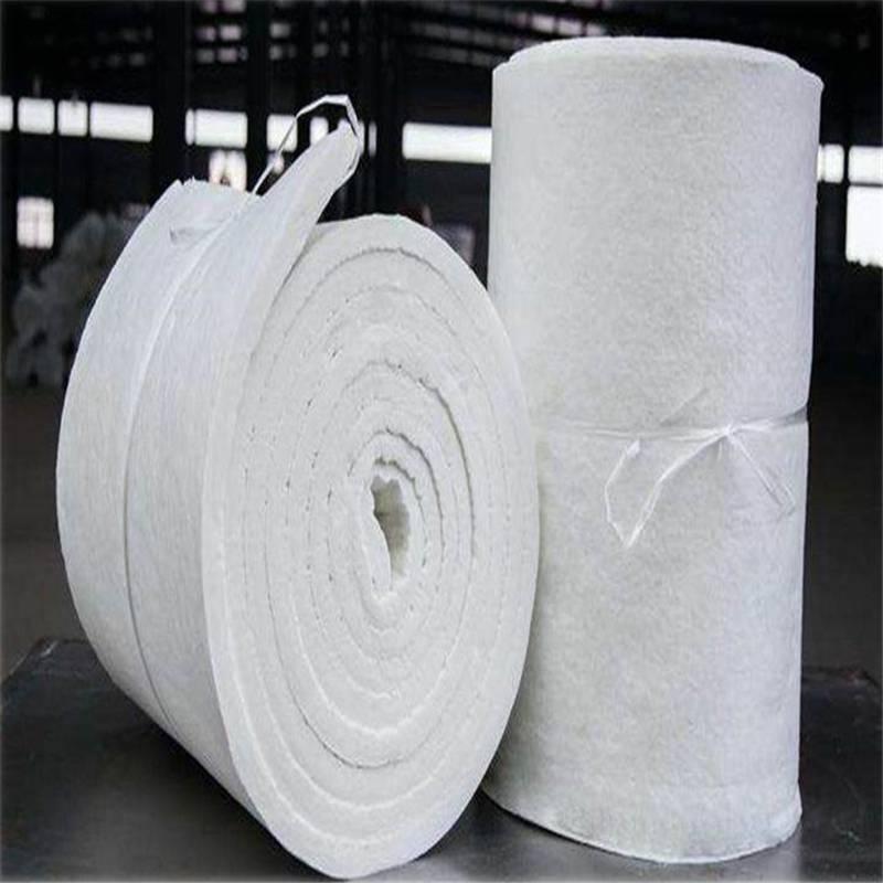 供应商无纺硅酸铝针刺毯 外墙保温硅酸铝耐火毯