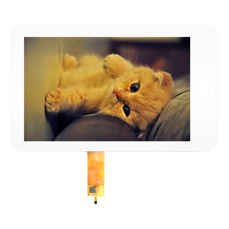 10.1寸电容式触摸 深圳触摸屏厂家定做 工控医疗电容触摸屏