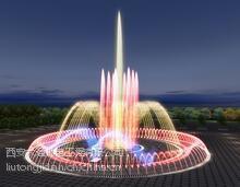 景区湖面音乐喷泉设计景区湖面音乐喷泉施工